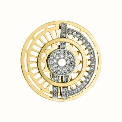 MY iMenso Fantasy Insignia 33mm (925/Gold-Plated) 33-0262
