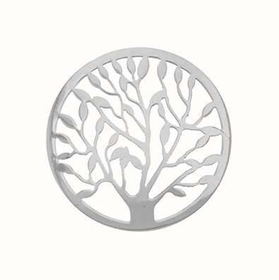 MY iMenso Tree Of Life Cover 33mm Insignia (925/Rhod-Plate 33-0479