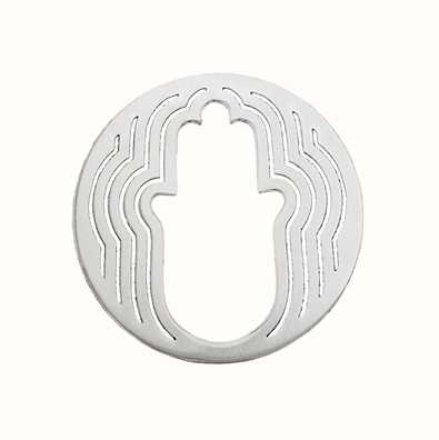MY iMenso Hand Of Fatima Cover 33mm Insignia (925/Rhod-Pla 33-0483
