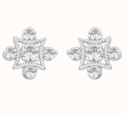 Perfection Crystals Fancy Antique Stud Earrings (0.35ct) E2663-SK