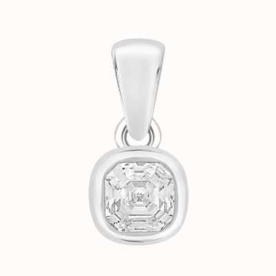 Perfection Swarovski Single Stone Rubover Imperial Mosaic Pendant (0.40ct) P5687-SK
