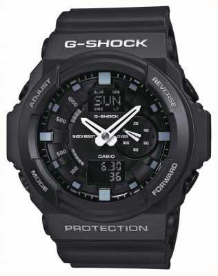 Casio Mens G-Shock Black Chronograph GA-150-1AER