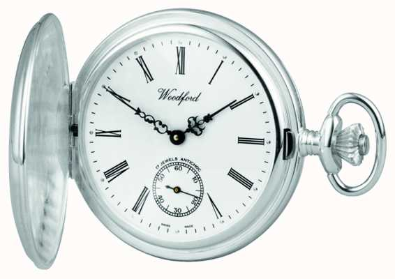 Woodford | Full Hunter | Sterling Silver | Pocket Watch | 1001