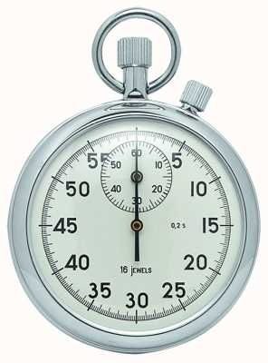 Woodford Chrome White Dial Mechanical Stopwatch 1041