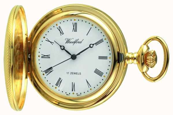 Woodford Mens Mechanical Pocket Watch 1056