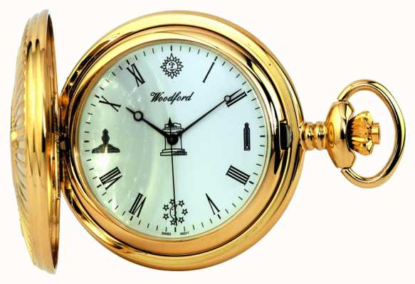Woodford Masonic Pocket Watch 1214