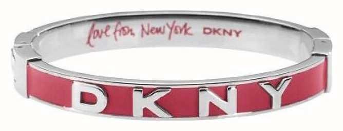 DKNY Stainless Steel Bangle Red Enamel NJ1933040