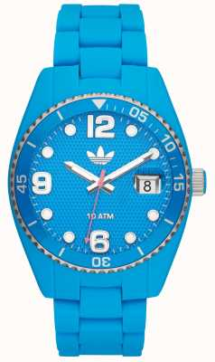 adidas Originals Unisex Brisbane Electric-Blue Rubber Watch ADH6163