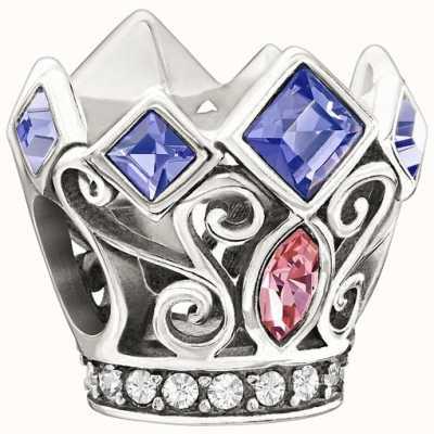 Chamilia Disney - Princess Royal Crown - Purple & Pink Swarovski 2025-0988