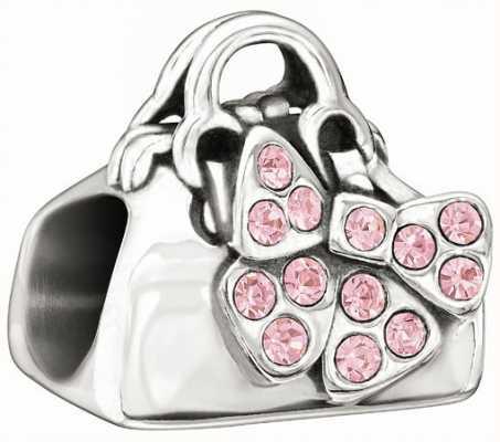 Chamilia Disney - Minnie Mouse Loves Shopping - Pink Swarovski 2025-0986