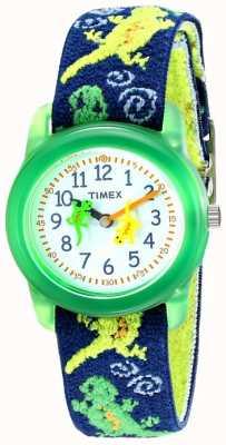 Timex Kid's Geckos Stretch Fabric Strap Watch T72881