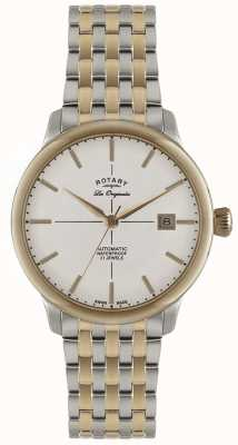 Rotary Mens Automatic Burlington Two Tone Watch GB90061/06