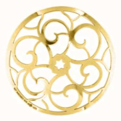 MY iMenso Polished Cover 33mm Insignia (925/Gold-Plated) 33-0339