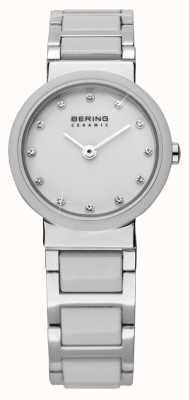 Bering Dual Tone Ceramic Watch 10725-754