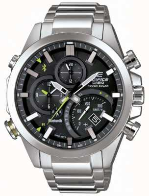 Casio Edifice Bluetooth Tough Solar Alarm Chronograph EQB-501D-1AMER