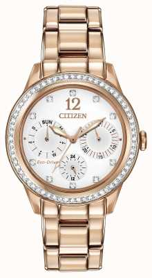 Citizen Womens Silhouette Crystal Watch FD2013-50A