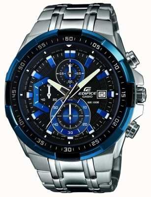 Casio Mens Edifice Watch Chronograph EFR-539D-1A2VUEF