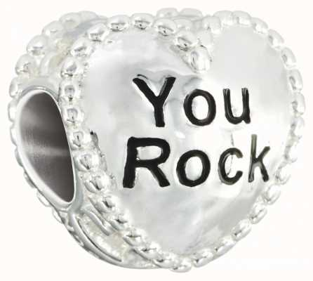 Chamilia Candy Hearts 'You Rock' Charm 2020-0782