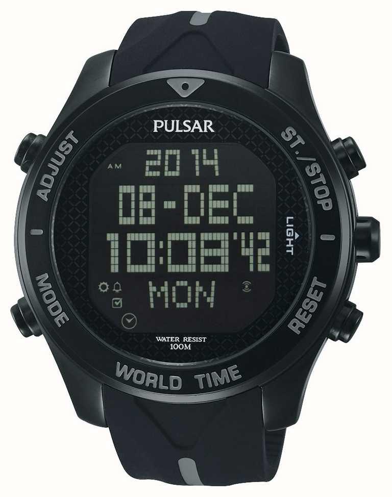 Pulsar Alarm Chronograph Watch Pq2041x1 First Class Watches Aus