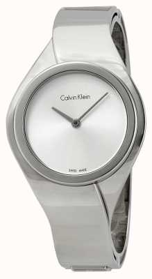 Calvin Klein Womens Senses, Stainless Steel Watch K5N2M126