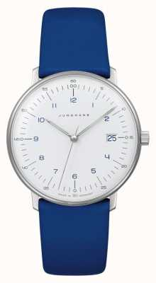 Junghans Max Bill Lady Quartz | Blue Leather Strap 047/4540.04