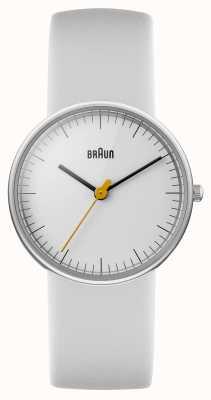 Braun Ladies All White Watch BN0021WHWHL