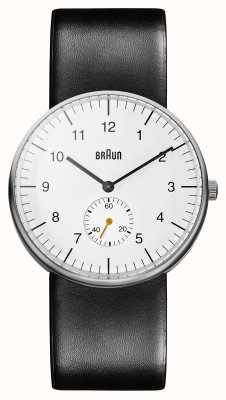 Braun Mens White Black Watch Ex-Display BN0024WHBKG Ex-Display