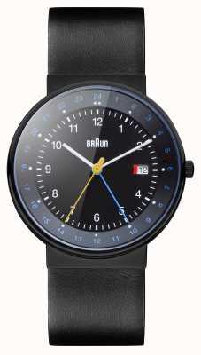 Braun Unisex Classic Dual Time Watch BN0142BKBKG