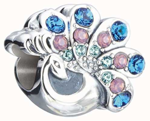 Chamilia Natural Beauty - Peacock - Sterling Silver with Multi Swarovski Crystal 2025-1426