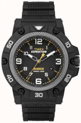 Timex Mens Field Shock Black Strap TW4B01000