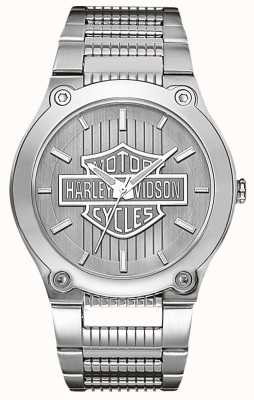 Harley Davidson Stainless Steel With Luminous Hands 76A134