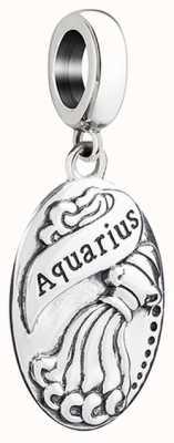 Chamilia Zodiac - Aquarius Hanging Charm (Jan-Feb) 2010-3291