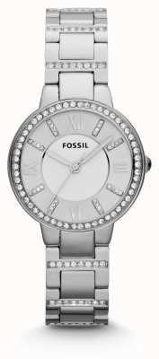 Fossil Womens Virginia Stainless Steel ES3282