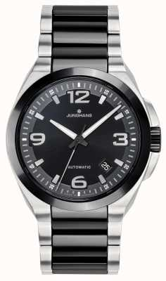 Junghans Spektrum Automatic | Black/Silver Stainless Steel Strap | 027/1500.44