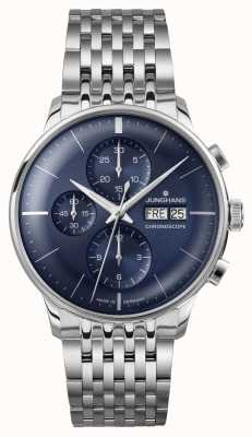 Junghans Meister Chronoscope (English Date) 027/4528.45