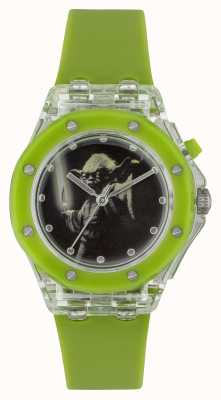 Star Wars Childrens Yoda Light Up Green Watch YOD3702