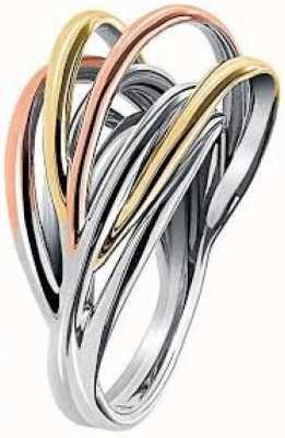Calvin Klein Crisp Three Tone Ring KJ1RDR300107
