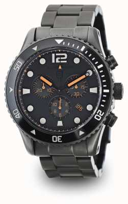 Elliot Brown Mens Bloxworth Gun Metal Plated Grey Dial 929-004-B05