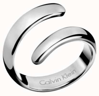 Calvin Klein Embrace Stainless Steel Ring KJ2KMR000107