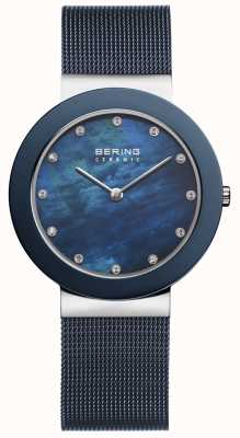 Bering | Womens Blue Strap Blue Dial | 11435-387