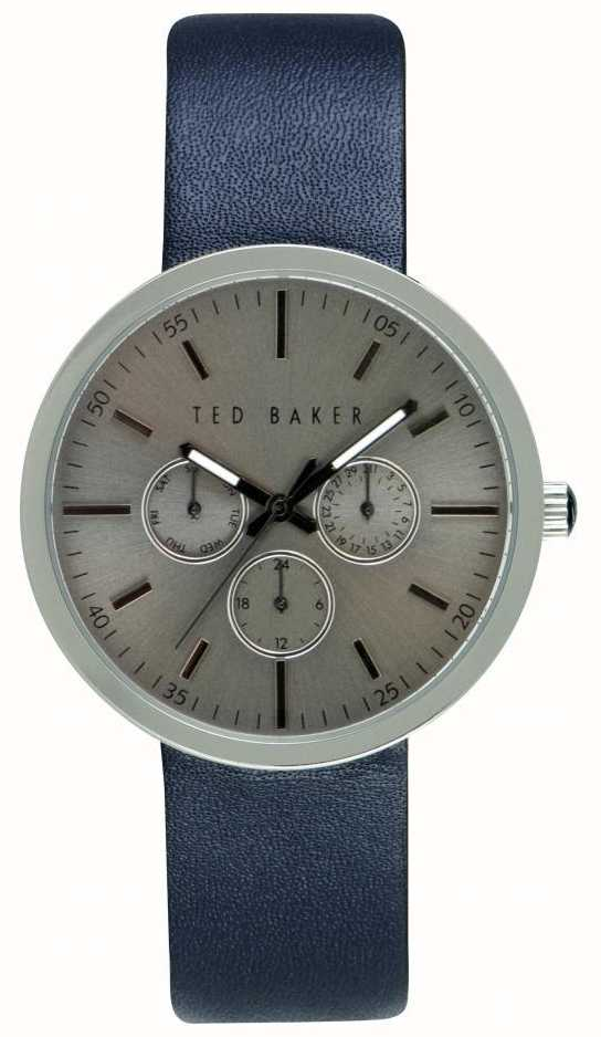 ff4ed5717156b3 Ted Baker Mens 42mm Case With Silver Dial TE10026553 - First Class ...
