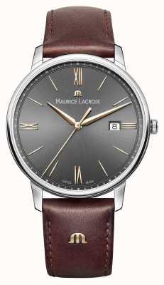 Maurice Lacroix Stainless Steel Sapphire Crystal Quartz EL1118-SS001-311-1