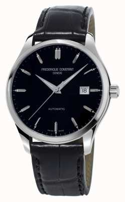 Frederique Constant Classics Index Automatic Mens Black Dial FC-303B5B6