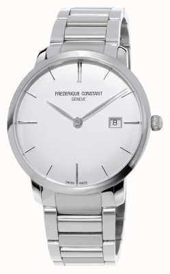 Frederique Constant Slimline Automatic Mens Stainless Steel Convex Sapphire FC-306S4S6B3