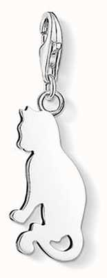 Thomas Sabo Cat Charm 925 Sterling Silver 1337-001-12