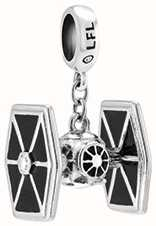 Chamilia Tie Fighter Black Enamel 2010-3456