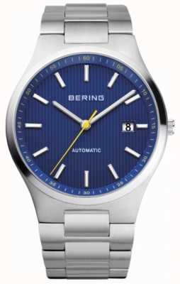 Bering Mens Automatic Stainless Steel Blue Dial 13641-707