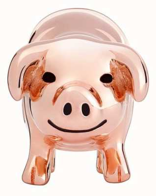 Chamilia Rose Gold Plated Piggy Bank Charm 2020-0831
