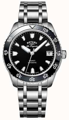 Rotary Womens Legacy Ocean Automatic Stainless Steel Bracelet LB90168/04