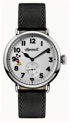 Disney By Ingersoll Mens Union The Trenton Disney Limited Edition Black Leather ID01202